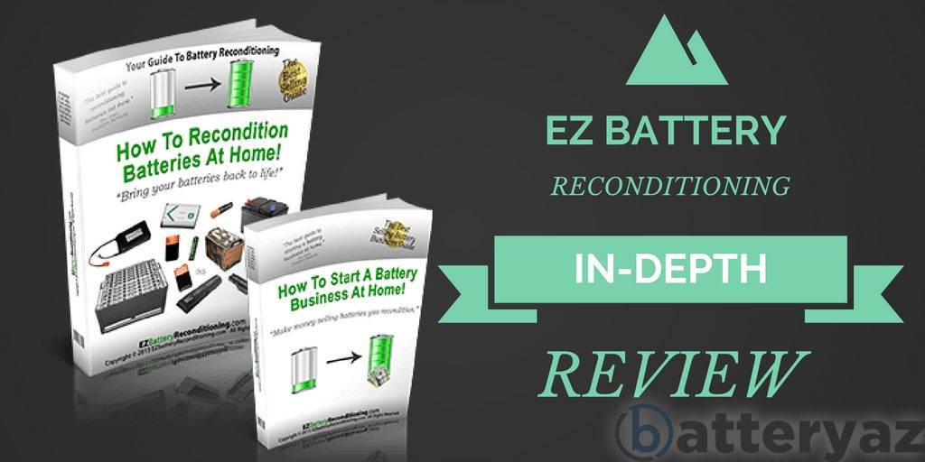 ez battery reconditioning by Tom Ericson